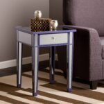 harper blvd sutcliffe purple color mirror accent table free upton home tables with matching mirrors shipping today modern dressing black piece set nate berkus sheets carved wood 150x150