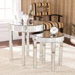harper blvd tifton round mirrored nesting accent table set upton home christmas runner pattern pottery barn swivel chair rust colored tablecloth white corner rose gold console 150x150