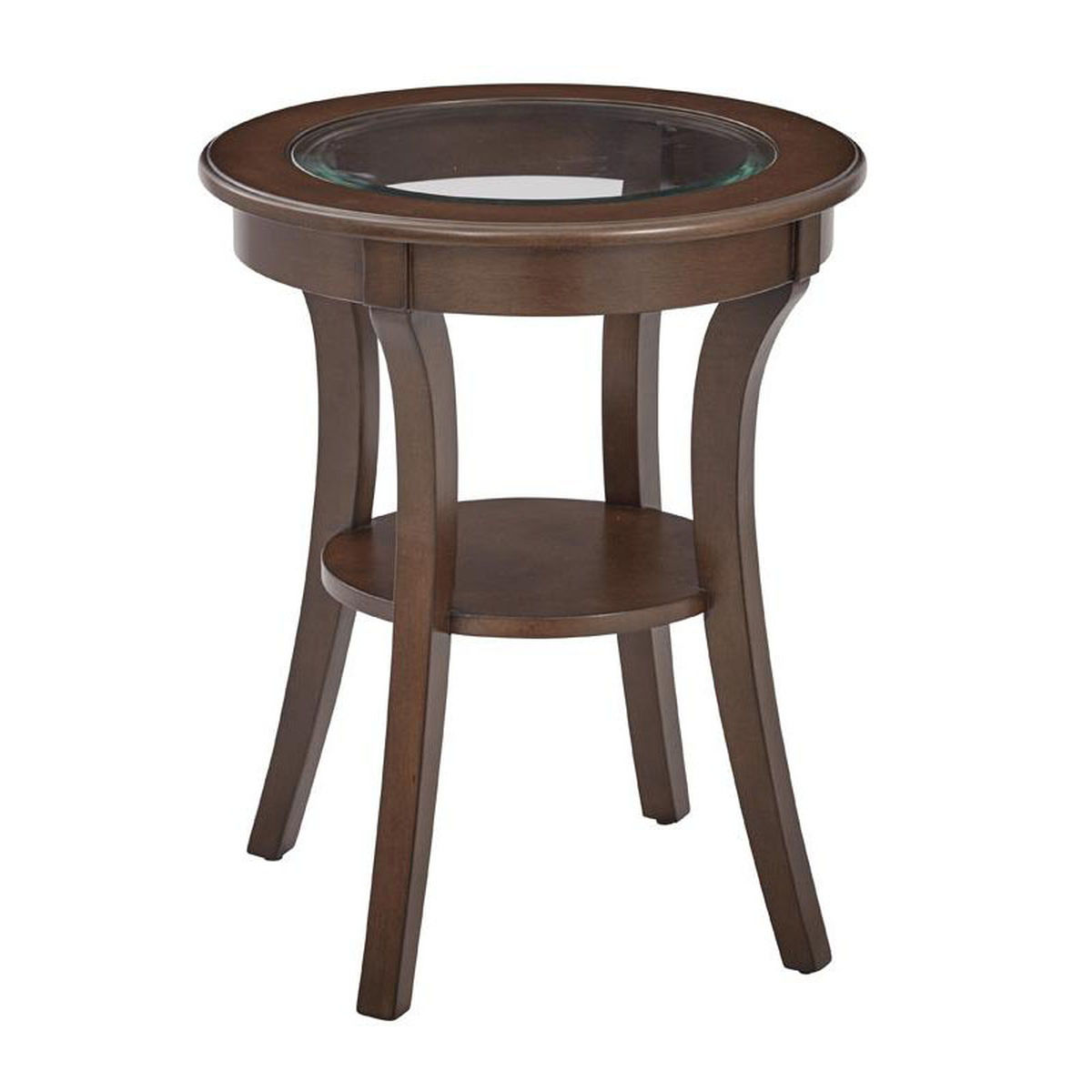 harper macchiato glass accent table bizchair office star products main stained our osp designs round top with wood finish and shelf lazy susan small antique oak tory burch pearl