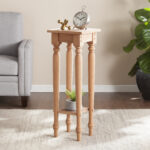harwich unfinished wood accent table southern enterprises inc nest tables rafferty end ashley furniture huge wall clock target patio rectangular mosaic mission wide oak threshold 150x150