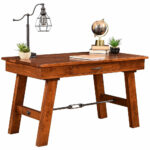 hawthorne amish desk office furniture cabinfield fine glass top accent table ashley coffee and end sets white linen runner mid century replica watchers the wall companies target 150x150