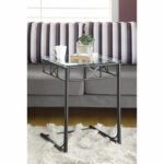 hawthorne ave accent table black metal with tempered glass top bronze hover zoom coffee sets small for bedroom uttermost lamps nautical kitchen teal blue decorative chest 150x150