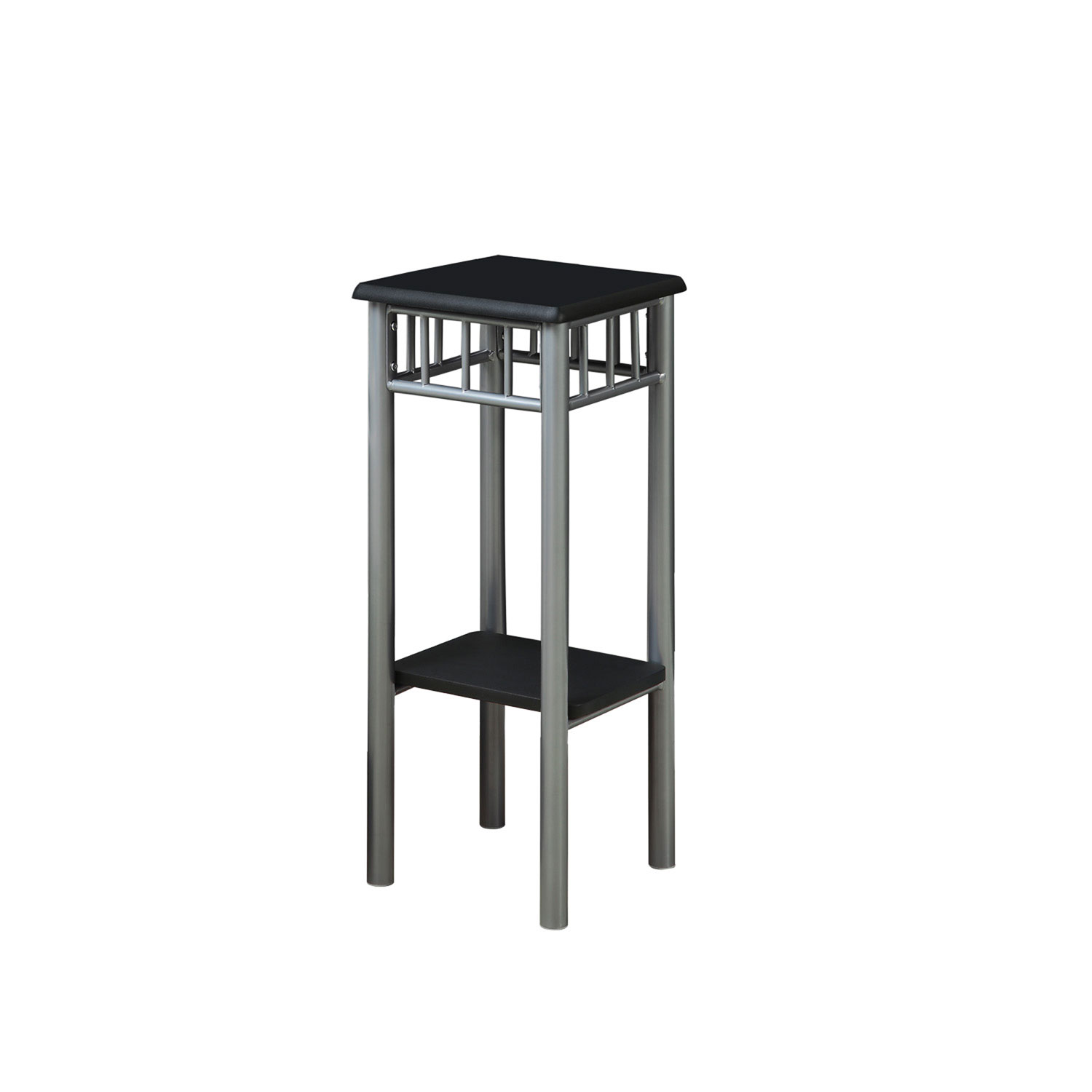 hawthorne ave accent table black silver metal bellacor glass top bronze hover zoom high patio with umbrella round industrial end outdoor coffee hole corner furniture dorm room