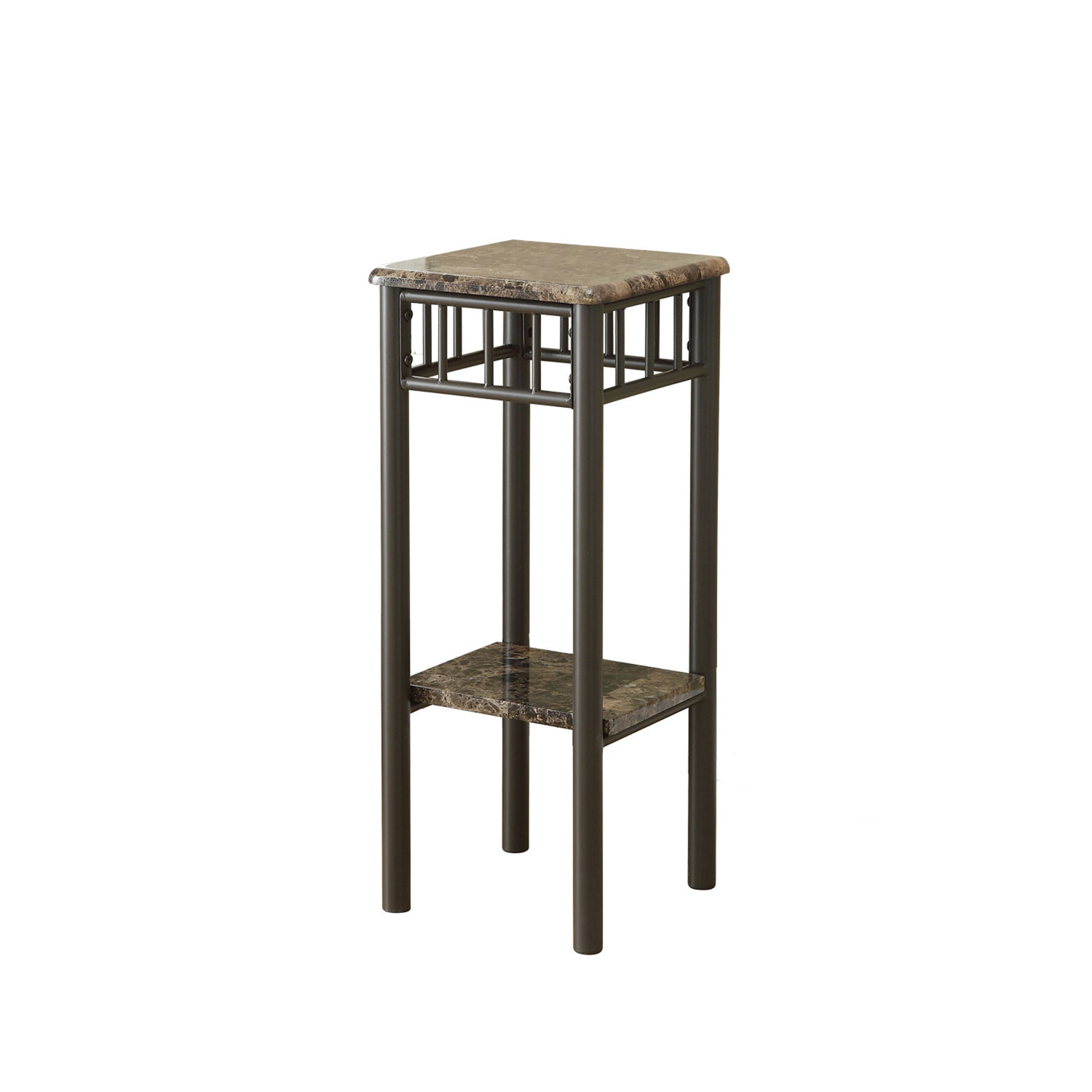 hawthorne ave accent table cappuccino marble bronze metal glass top hover zoom distressed coffee round industrial end high patio with umbrella nautical kitchen silver corner