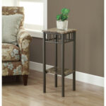 hawthorne ave accent table cappuccino marble bronze metal glass top hover zoom nautical kitchen corner furniture high bistro kirklands tables tiffany mission style lamps modern 150x150