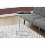 hawthorne ave accent table oval cappuccino with chrome metal glass top bronze hover zoom brass small mirrored nightstand high bistro silver cordless floor lamp rechargeable round 150x150