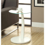 hawthorne ave accent table white bentwood with tempered glass top hover zoom vita silvia mid century replica furniture side for nursery marble sofa monarch hall console ashley 150x150