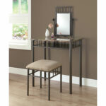 hawthorne ave vanity set piece cappuccino marble bronze glass top accent table hover zoom inch hairpin legs end tables brass lamp base nest furniture high corner decorative chest 150x150