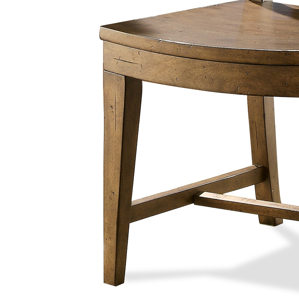 hawthorne wood dining side chair each barnwood humble abode diningsidechair accent table leick furniture mission home goods dressers room essentials curtains wipe clean tablecloth