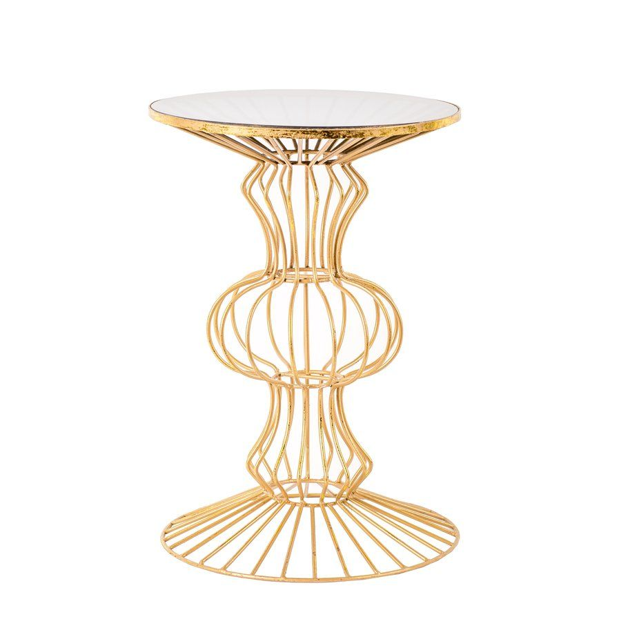 haymarket iron wire end table jewel toned gold accent oblong side french braid quilt pattern runner storage black room essentials inch round glass tables ikea uma outdoor