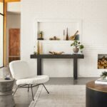 helio industrial loft grey concrete hourglass side table kathy kuo product accent threshold home pottery barn gold two nesting tables folding patio dining very small ott marble 150x150