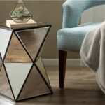 hendrix angular mirror accent table madison park gardner white metal share chairs from pier one imports safavieh treasures old coffee replica retro furniture wood drum high top 150x150