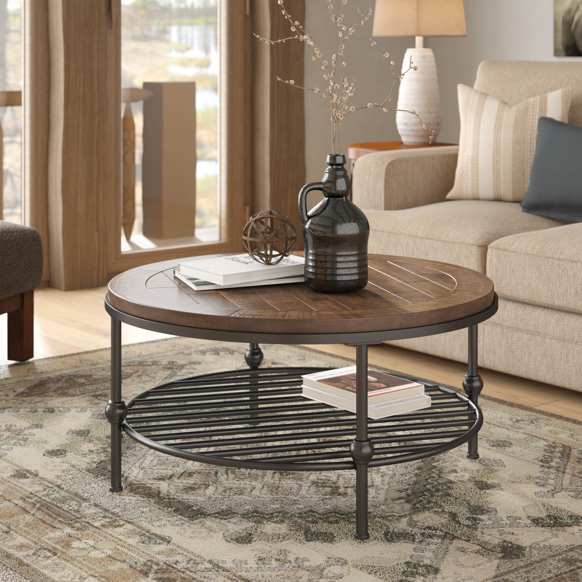 hendrix coffee table reviews birch lane room essentials mixed material accent gaming foot long console garden occasional tables farmhouse end square for mid century dining chairs