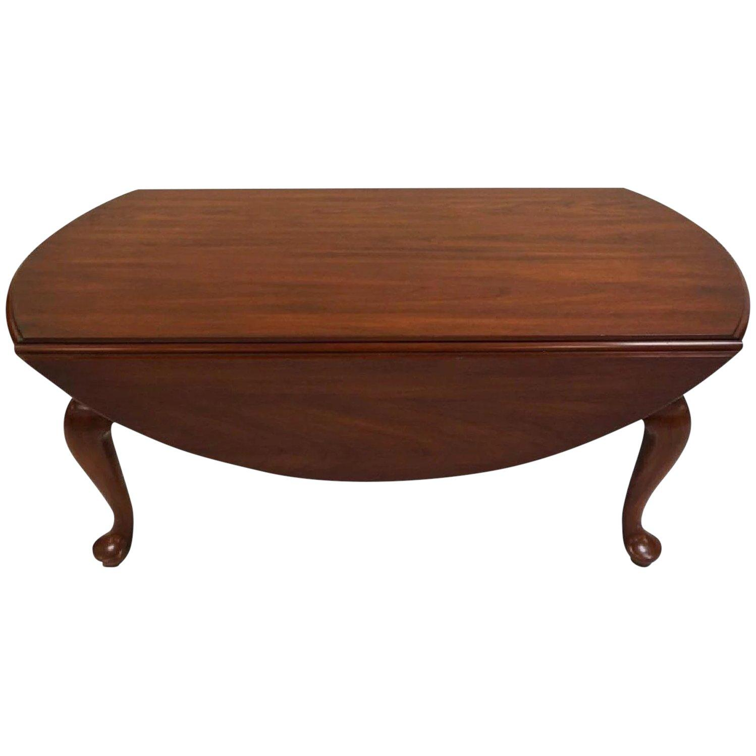 henkel harris wild cherry drop leaf handmade queen anne coffee table full master middletown accent patio for extra wide console target bistro small black battery power pack lamp