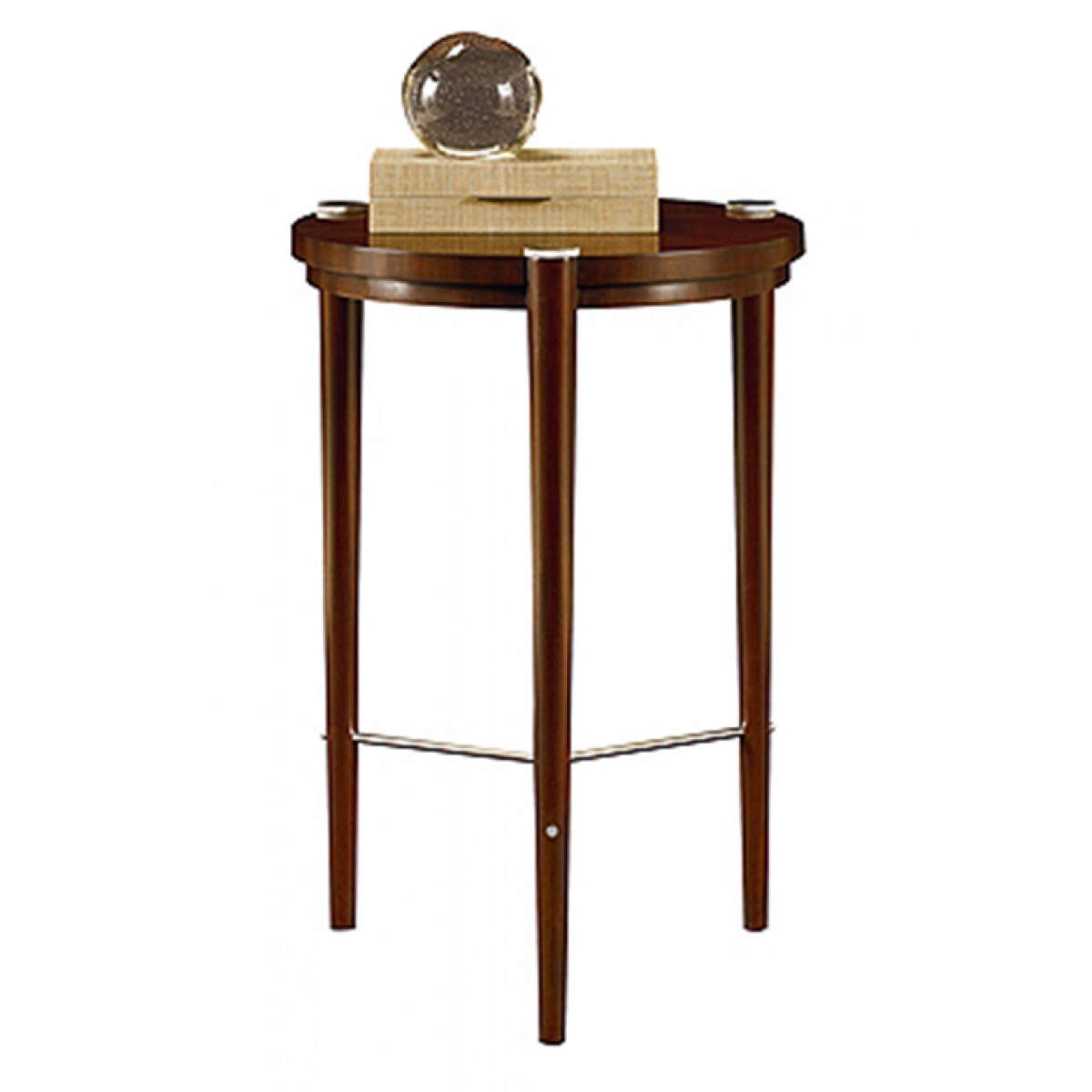 henredon scene six occasional table knurl accent tablecloths and placemats kitchen dining room furniture woven metal tiffany nightstand lamps beautiful shades light small counter