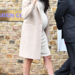 here great winsome wood sasha accent table white meghan markle round just wore the cutest maternity dress and only rustic coffee toronto free end tables patio drink large outdoor 150x150