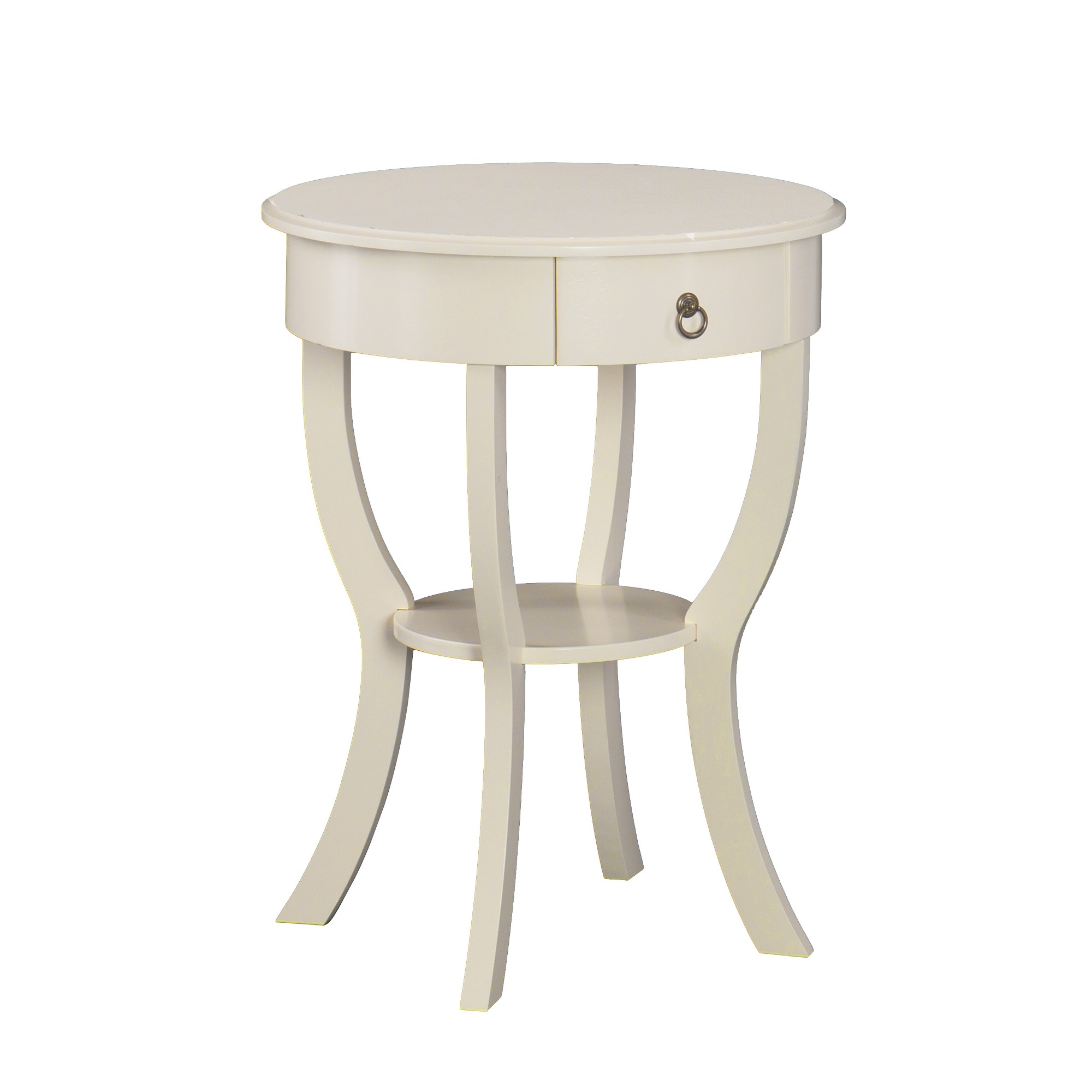 hettie tall accent table white aiden lane products target margate antique victorian coffee small marble top pottery barn tray drum set throne sofa for space living room pedestal