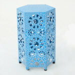 hexagon end side tables joss main bales table fretwork accent blue quickview cloth bronze rain drum dale tiffany glass wall art modern outdoor slim ikea furniture cupboards for 150x150