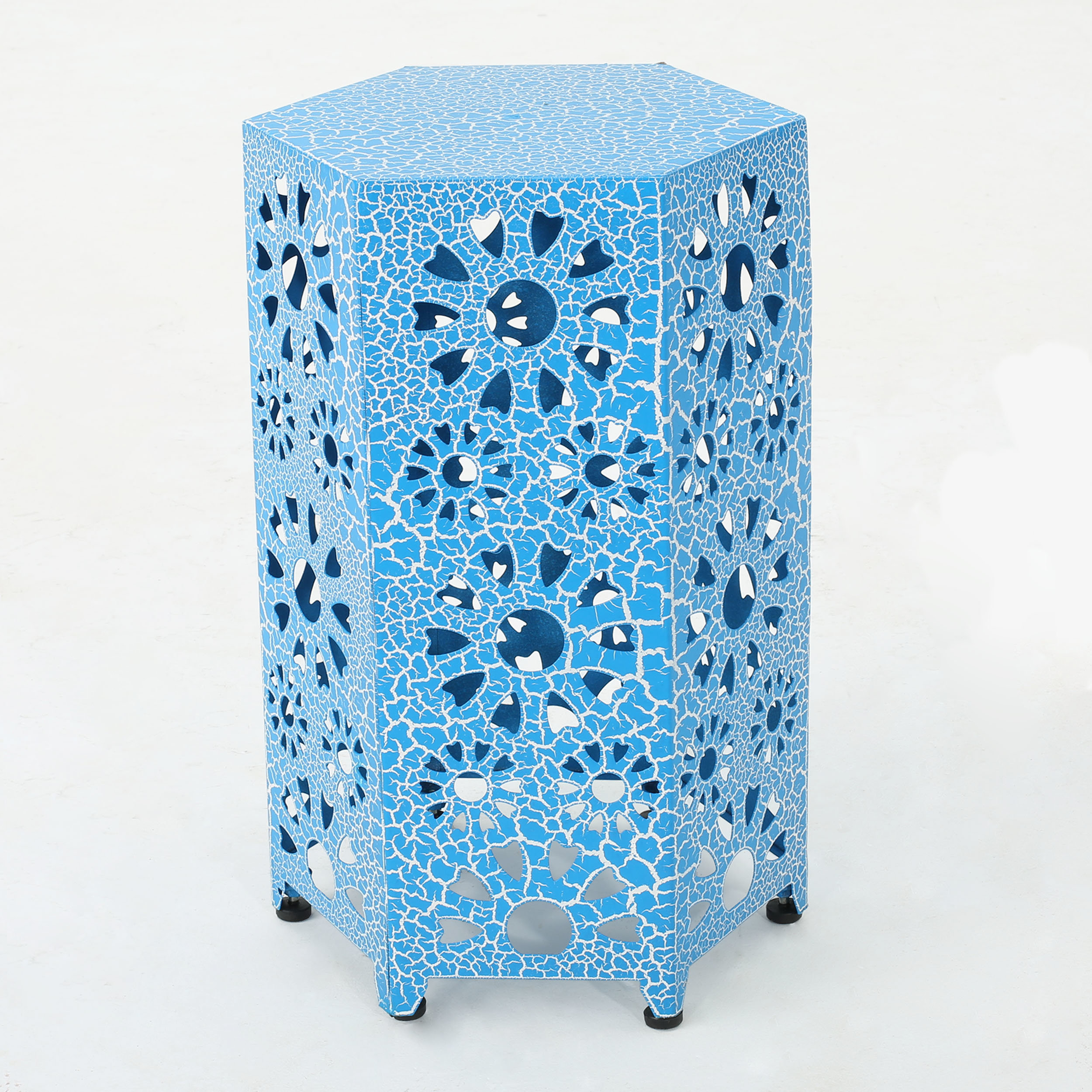 hexagon end side tables joss main bales table fretwork accent blue quickview cloth bronze rain drum dale tiffany glass wall art modern outdoor slim ikea furniture cupboards for