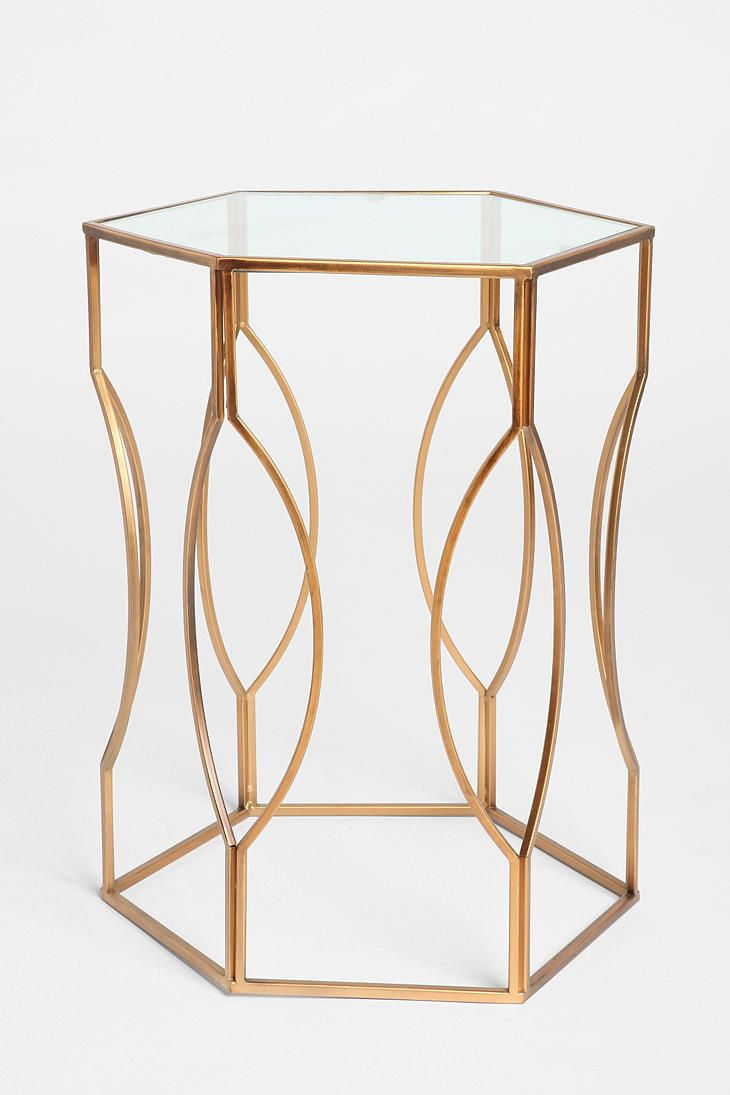 hexagon side table uohome living room furniture sides gold metal accent tuscan cherry dining kmart marble lamp small bedroom chairs outdoor tables round mirrored end dark grey