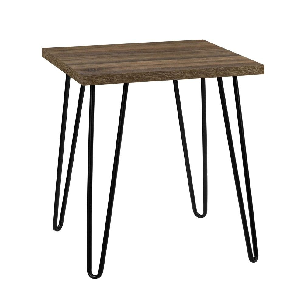 heywood retro accent table walnut brown room joy small oak tables lucite coffee modern nightstands rectangular mosaic white lacquer side half moon and chairs outdoor rain drum