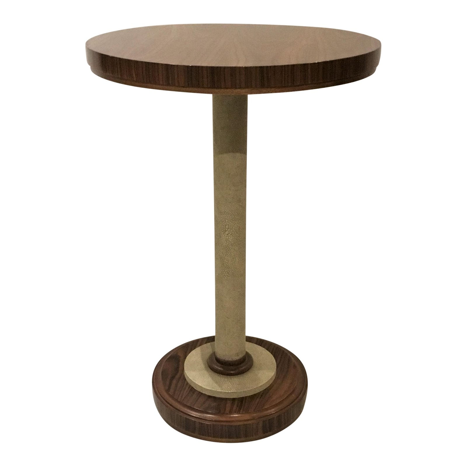 hickory chair shagreen wood accent table chairish and sofa unusual tables pier imports patio furniture inch round covers pearl drum throne corner end console chest drawers