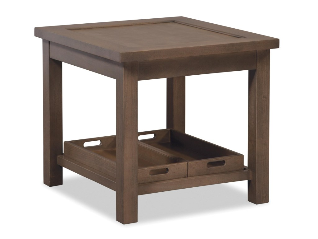 hickorycraft craftmaster accent tables end table with two removable products color storage furniture tablesend pier one blue oriental lamp tall skinny console small entryway