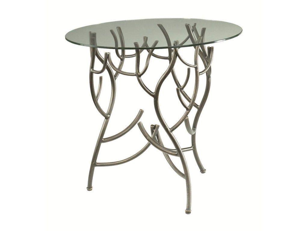 hidden treasures glass top twig accent table morris home end tables products hammary color treasurestwig decorative nautical lanterns modern bench small white corner desk diy