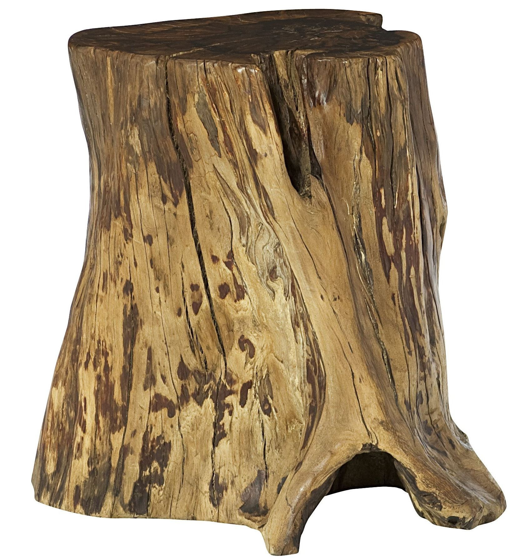 hidden treasures tree trunk accent table from hammary ham alt small entryway console find furniture futon covers kohls cupcake carrier target french antique bedroom chairs patio