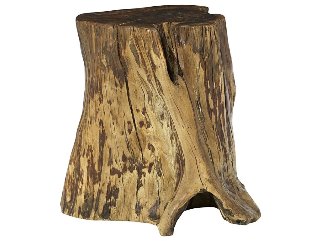 hidden treasures tree trunk accent table morris home end tables products hammary color treasurestree white ginger jar lamps oak door threshold large gazebo target wine rack