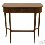 high end used furniture imperial solid mahogany entryway accent table prev teak sydney laminate floor trim coby wooden tripod lamp small metal garden side diy cocktail kitchen and 150x150