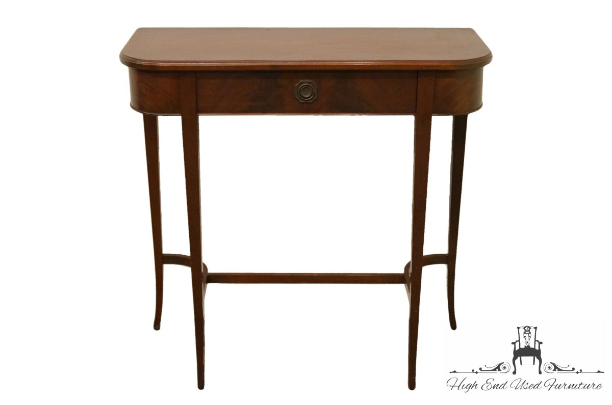 high end used furniture imperial solid mahogany entryway accent table prev teak sydney laminate floor trim coby wooden tripod lamp small metal garden side diy cocktail kitchen and