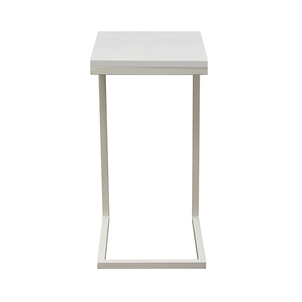 high gloss edge accent table glossedgeaccenttable white end tables set lamps furniture chair ikea storage ideas modern light wood vintage mirror side mini zinc coffee martha
