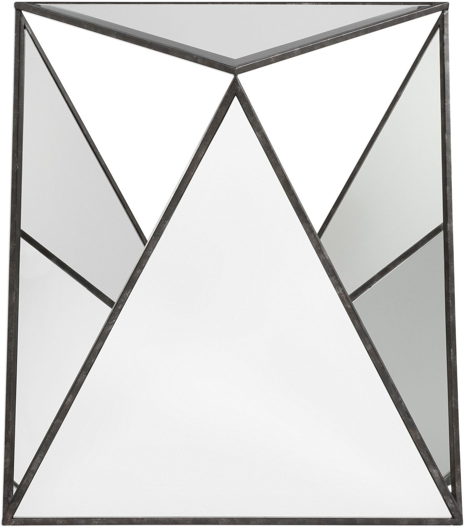 hilaire tripod mirrored accent table from uttermost coleman furniture laton inside small chest drawers made usa sparkle lamps silver trunk coffee round marble top bistro green end