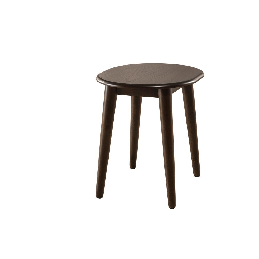 hillsdale furniture chestnut end table the tables accent home goods sofa battery operated room lights wrought iron wine rack round cotton tablecloth contemporary glass west elm