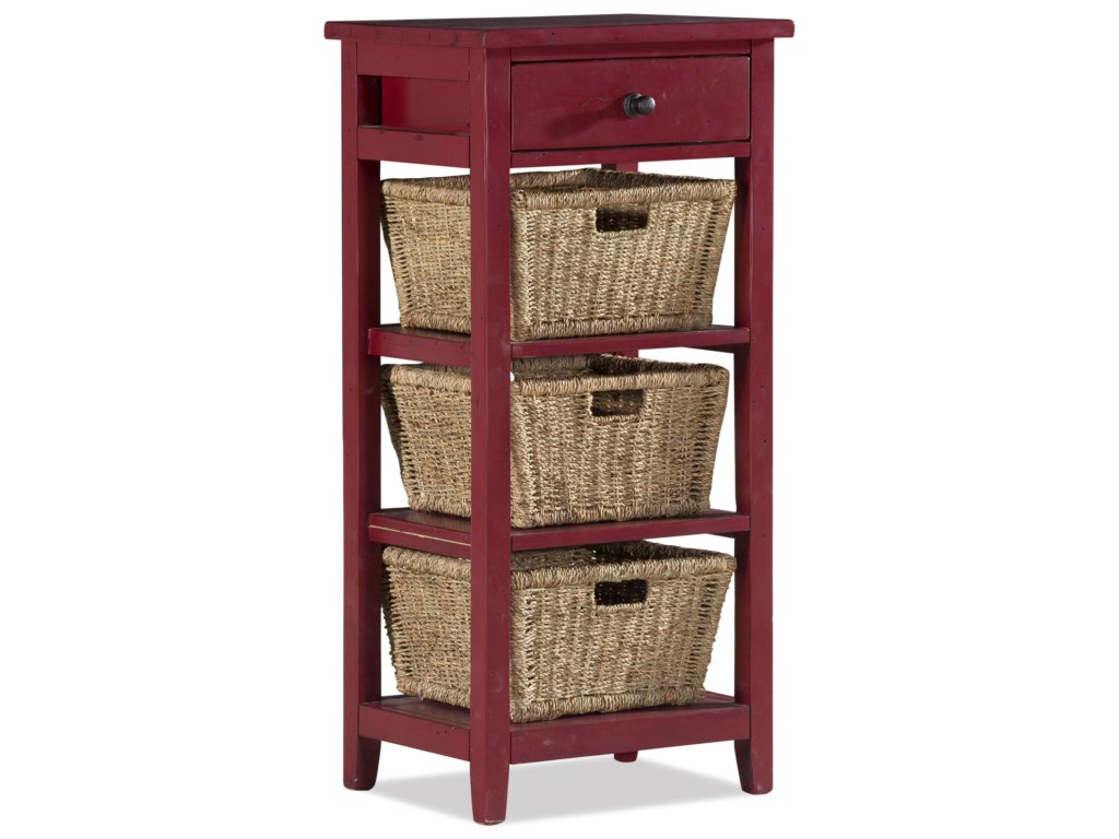 hillsdale tuscan retreat end table with baskets and drawer products color accent retreatend decorative storage cabinet doors west elm box frame dining jcpenney bedding nautical
