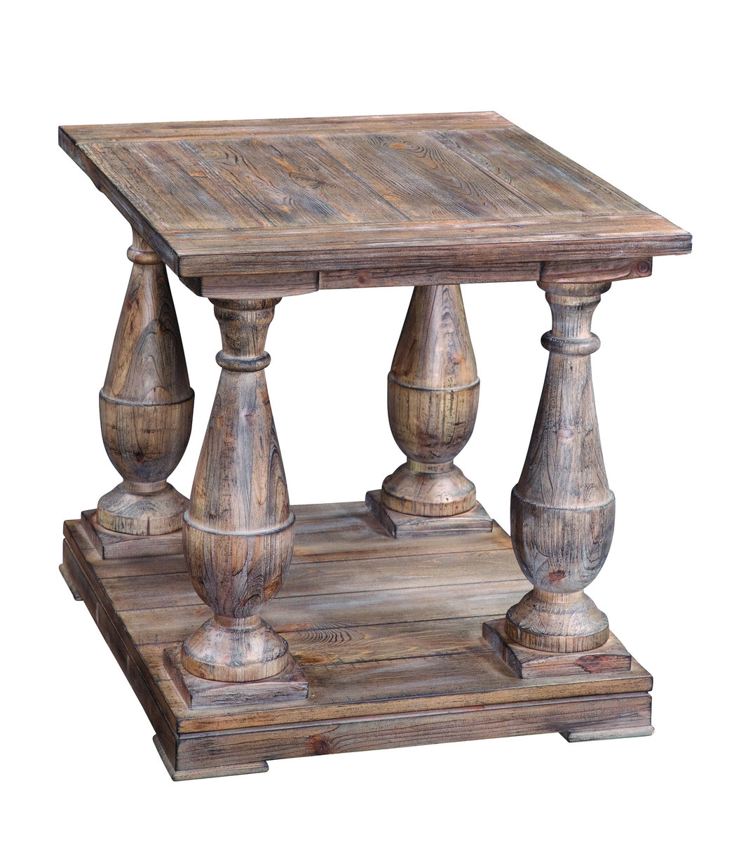 hitchcock rectangular end table smoked barnwood finish accent rustic tables diy patio furniture las vegas desk luxury tablecloths century coffee entry decor ideas storage with