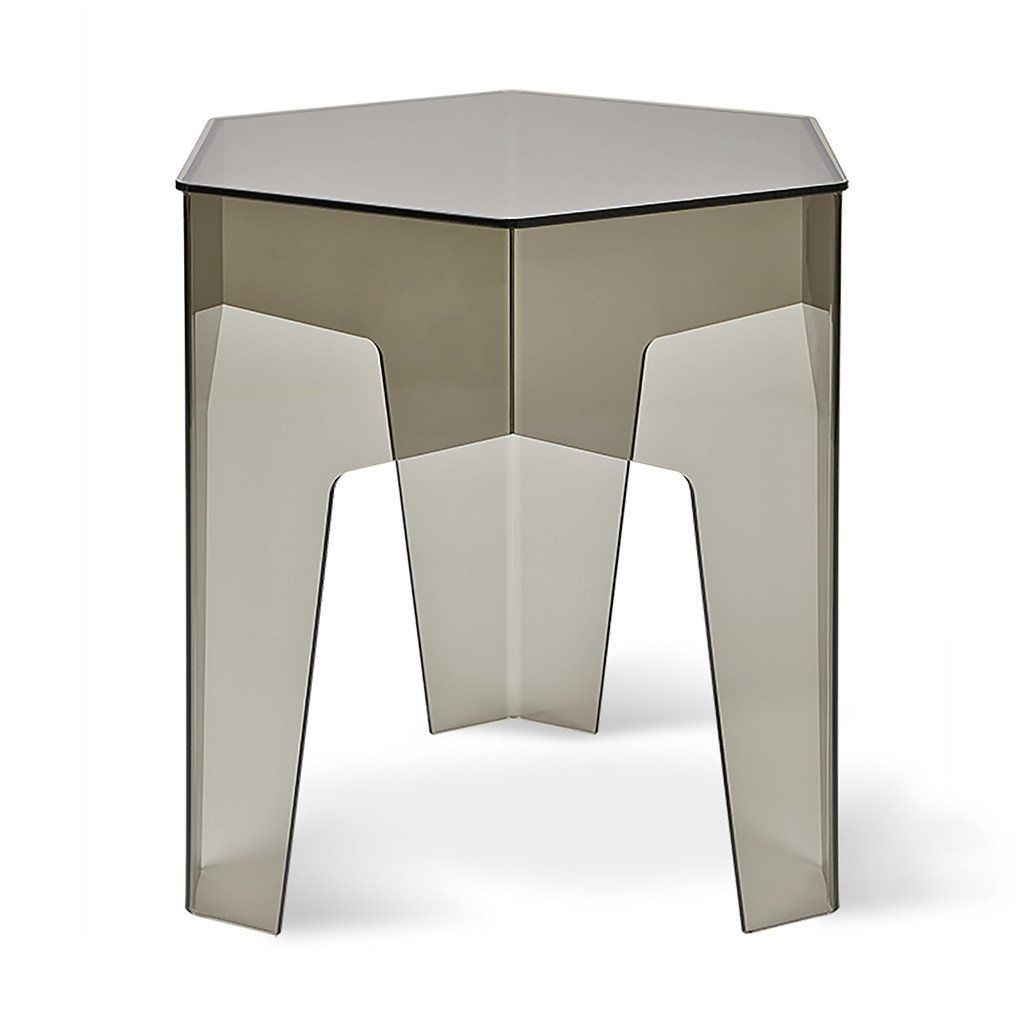 hive end table accent tables gus modern high point furniture clear acrylic zella narrow wood side sheesham screw wooden legs linens tablecloth factory small round antique rod iron