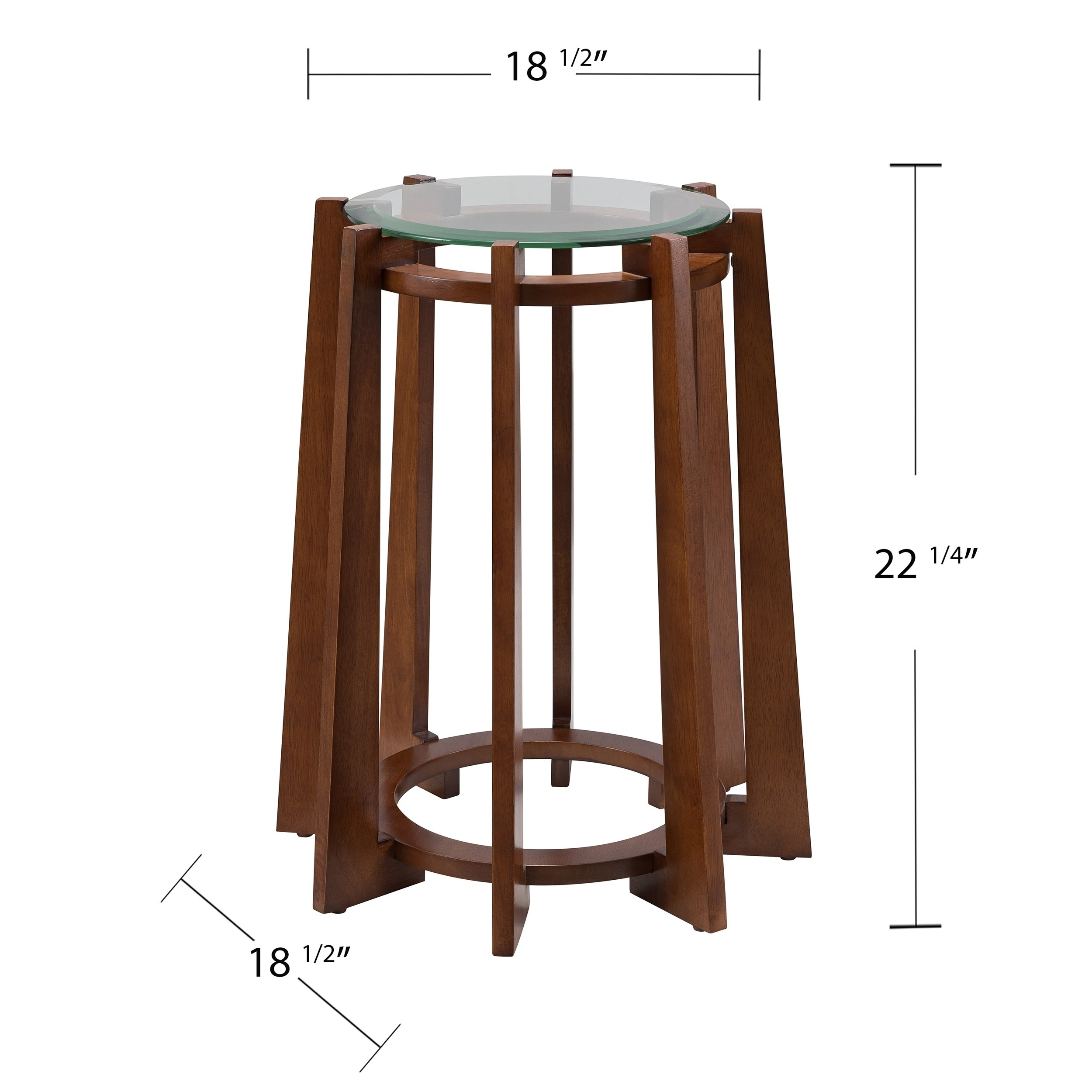 holly martin colvi midcentury modern round accent table furniture free shipping today industrial look bedside tables counter height pub faux marble top coffee metal occasional