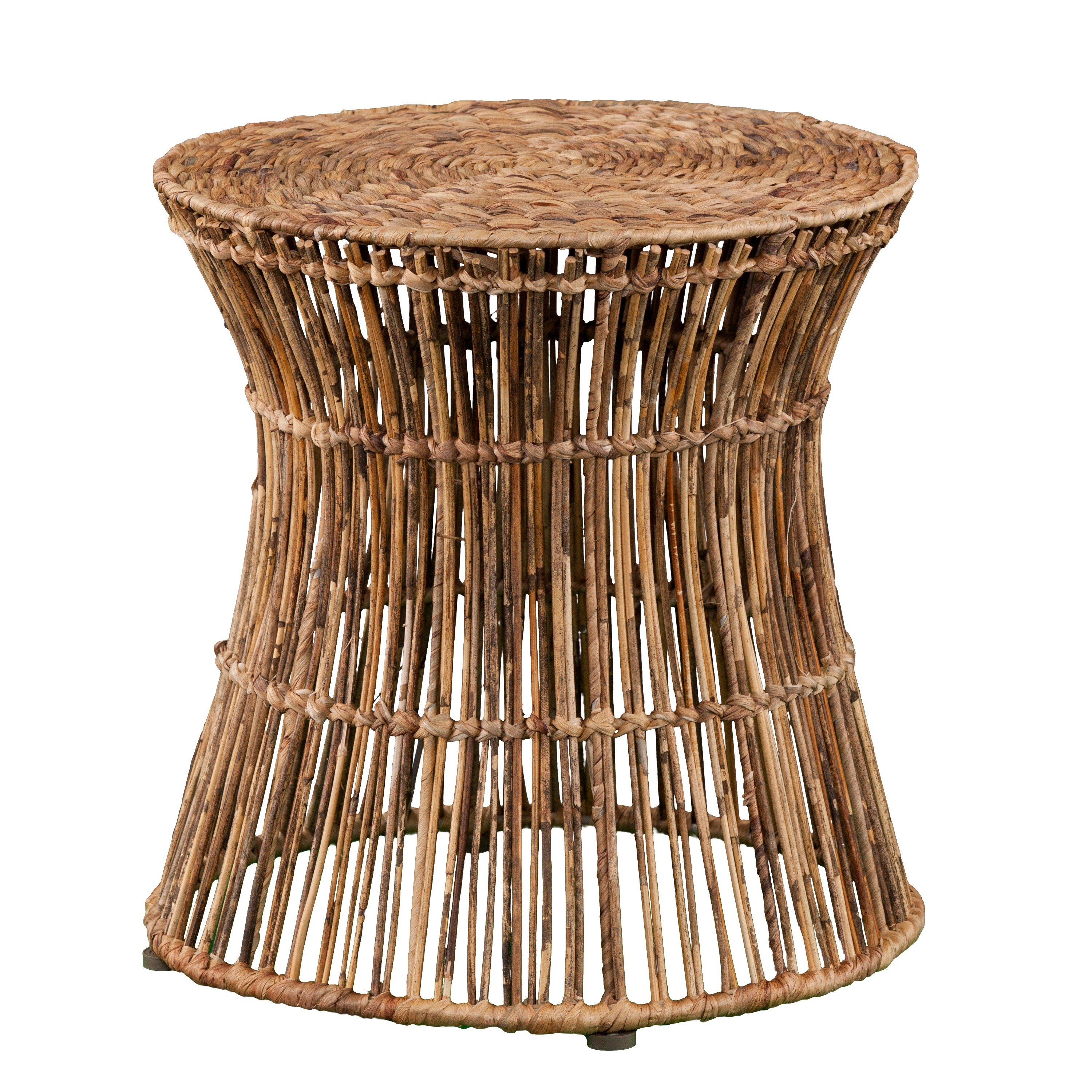 holly martin ocala hyacinth accent table stool free shipping today drop leaf desk oak nest tables ikea black dining chairs west elm sconce multi colored target round side and gold