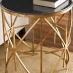 home decor living room table and furniture montrez gold accent granite top side sofa with drawer west elm stools brass coffee glass making size childrens chairs target willow 150x150