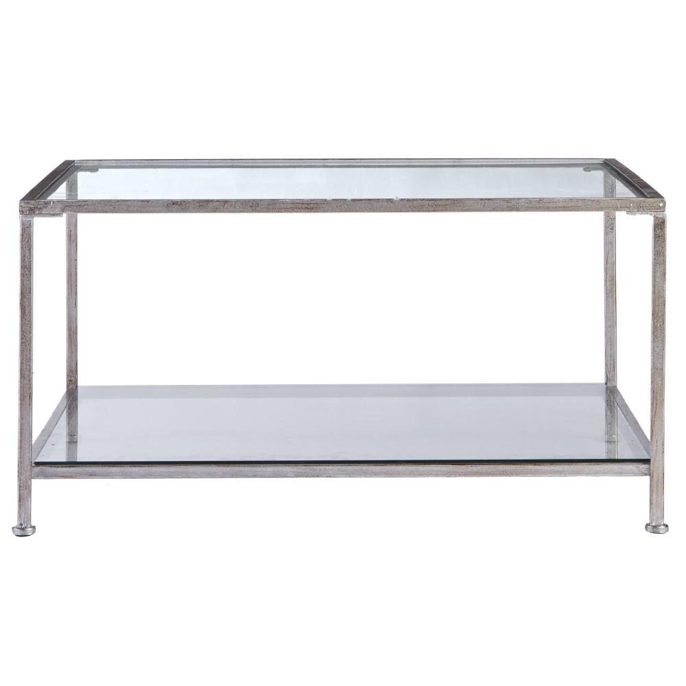 home decorators collection bella aged gold square glass coffee table silver tables antique faceted accent with top this review from sofa and loveseat set barn door stand entryway