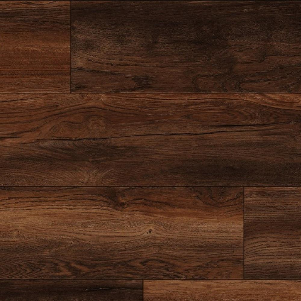 home decorators collection cinder wood fusion thick dark brown authentic textured finish laminate flooring accent table five below this review from eir rocky butte oak wide length