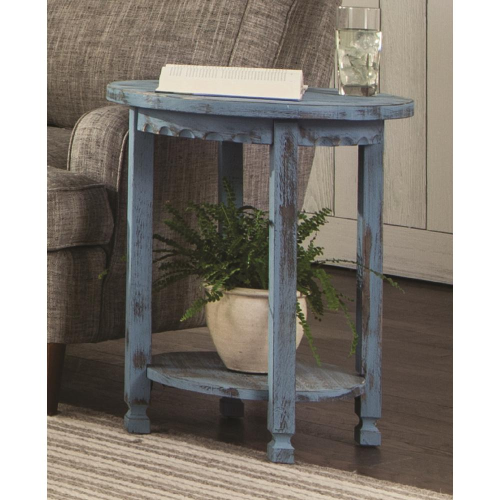 home decorators collection end tables accent the blue alaterre furniture distressed round black pedestal table country cottage antique rugs metal and glass nightstand wall light
