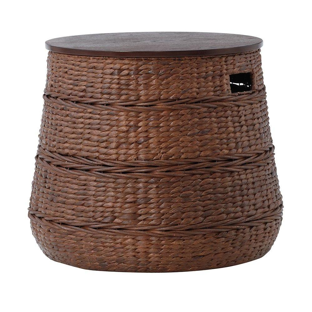 home decorators collection kerala brown end table the tables wicker storage accent leg extensions red dining room chairs chalk paint coffee side units for living bar height bistro