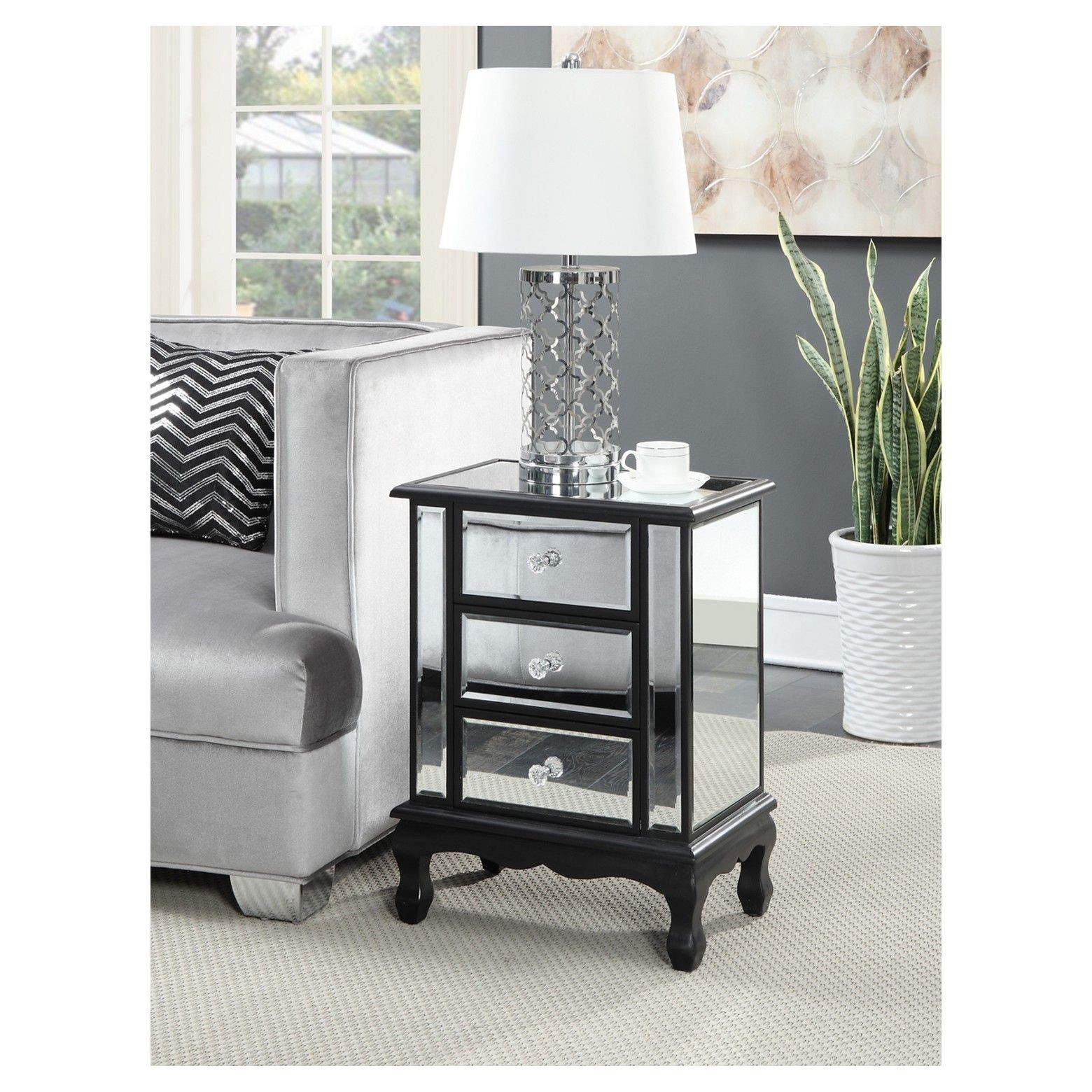 home design mirrored nightstand target best threshold awesome convenience concepts gold coast vineyard drawer end table accent with full size storage boxes metal lamp granite