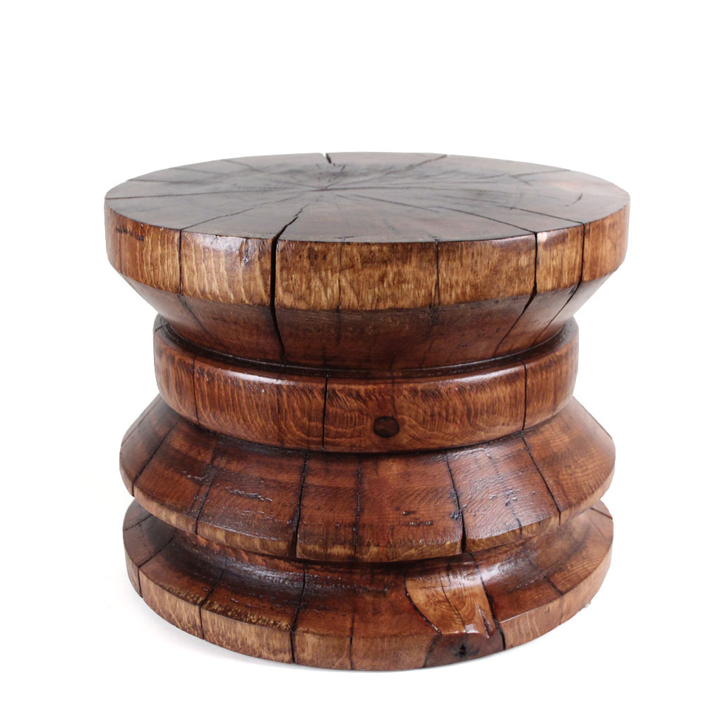 home goods accent tables the fantastic real round log end custom design furniture manufacturer pinedominguez dominguez table pier small mirrored nightstand mid century modern
