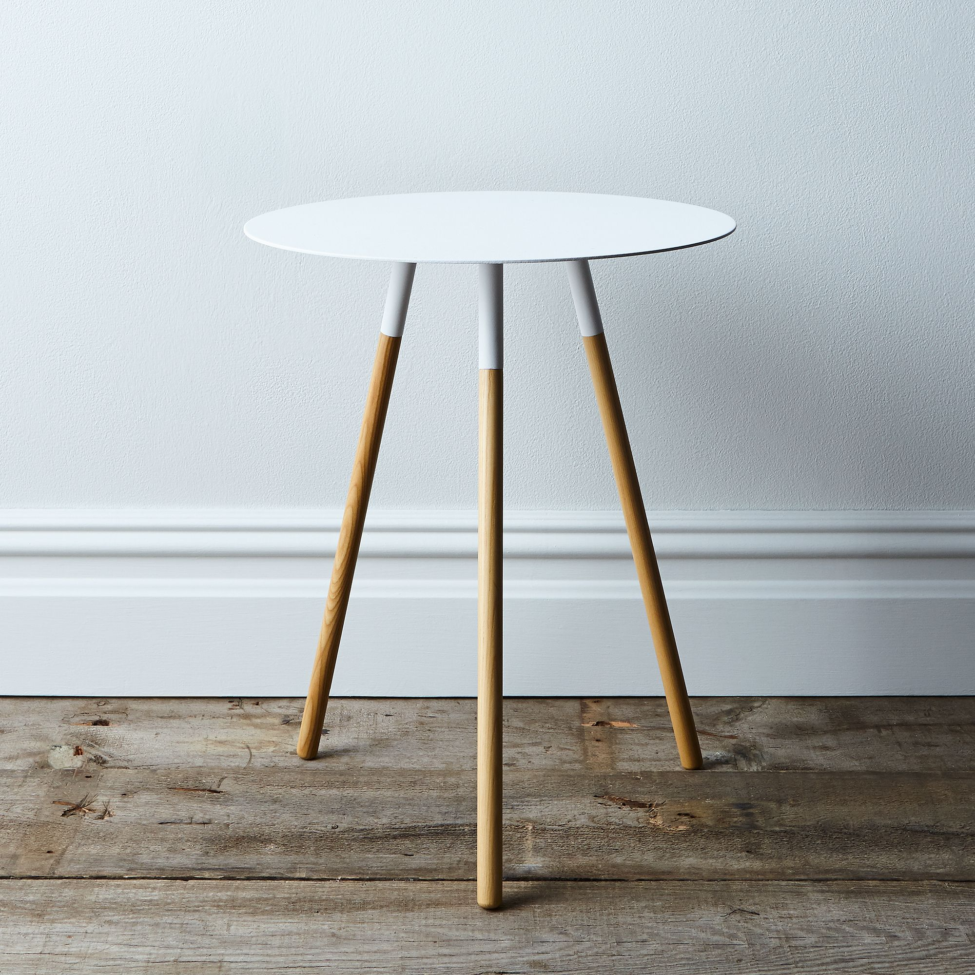 home goods accent tables the fantastic real round log end steel wood side table yamazaki and silo rocky luten kitchen chairs set ashley tufted mid century modern live edge leather