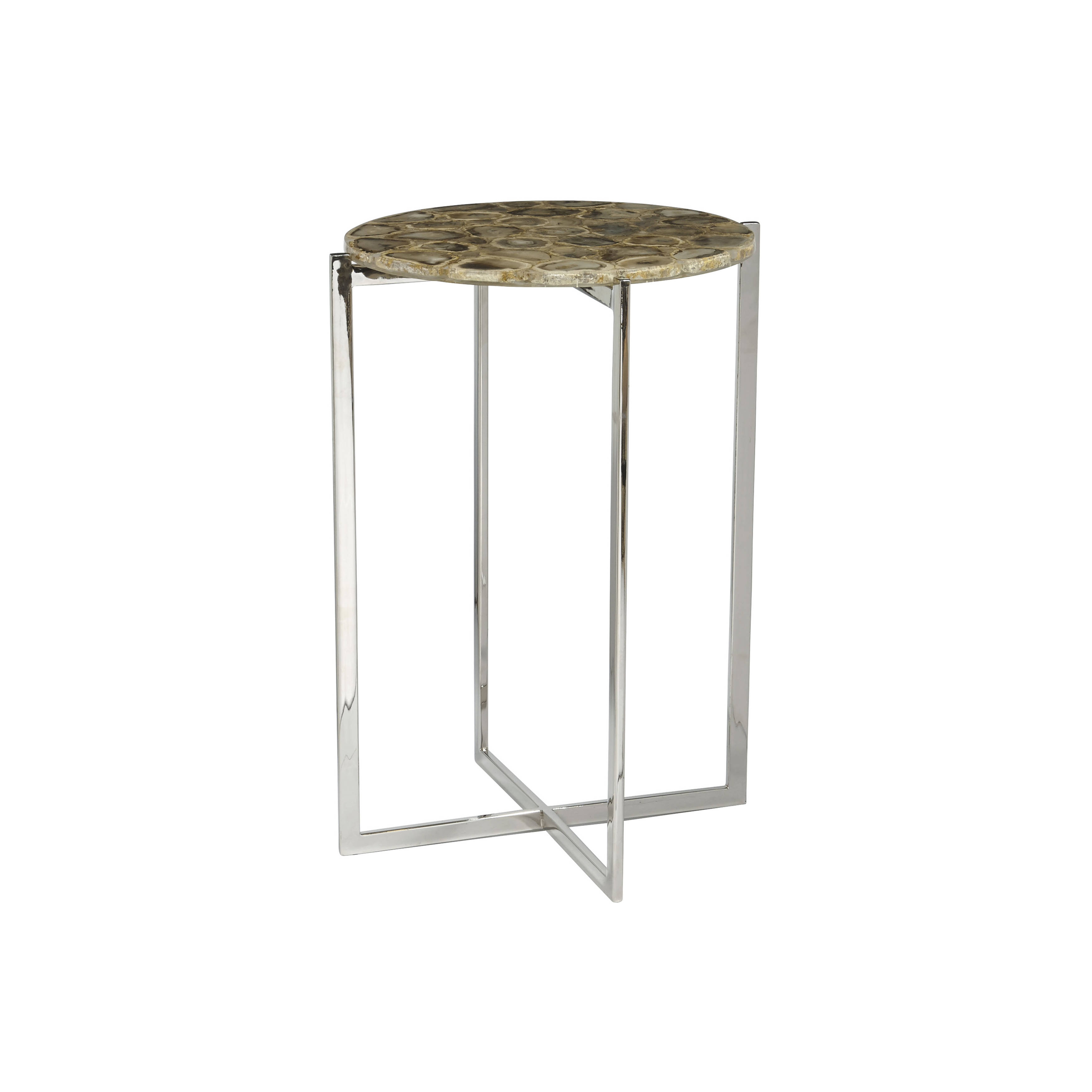 home meridian linden agate accent table the classy click enlarge black round patio white sliding barn door large side marble coffee with built tables simple plans pottery tilting
