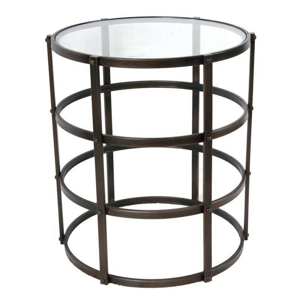 home metal glass accent table modish tap expand base dark wood occasional tables mirage mirrored sisal runner antique looking end target leather chair whole lamp shades small tall
